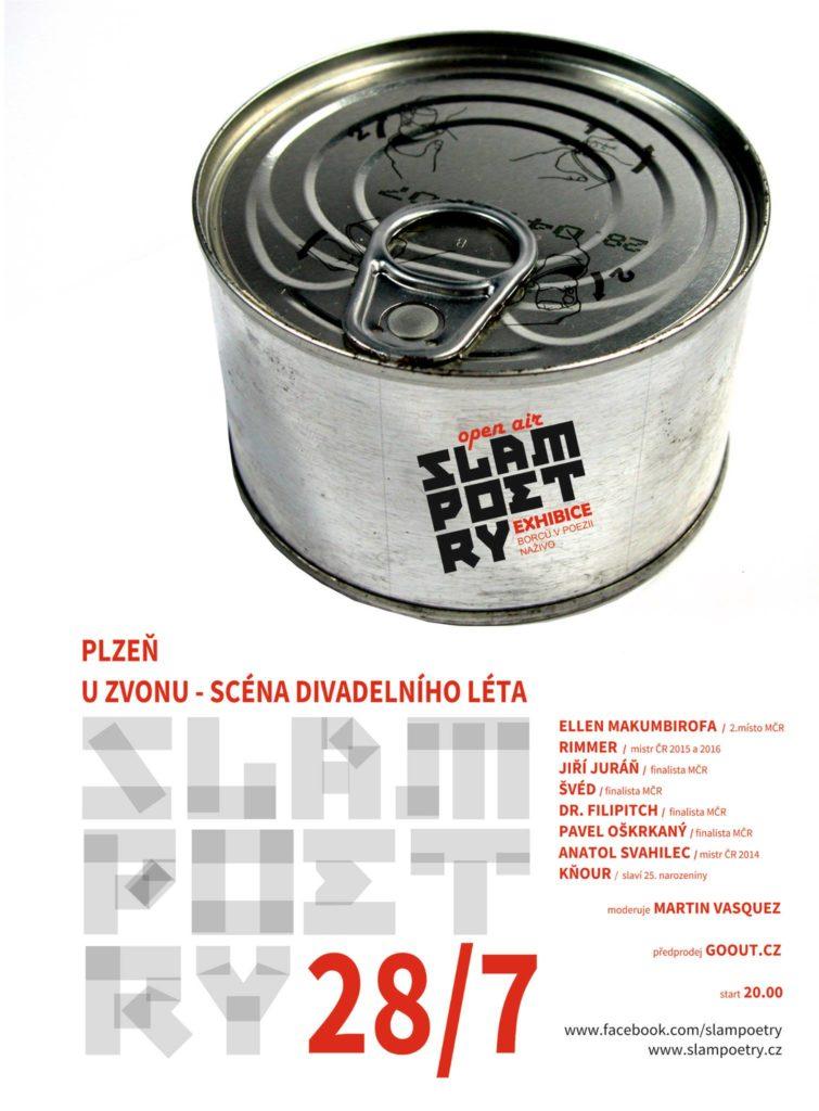 Open air slam Plzeň