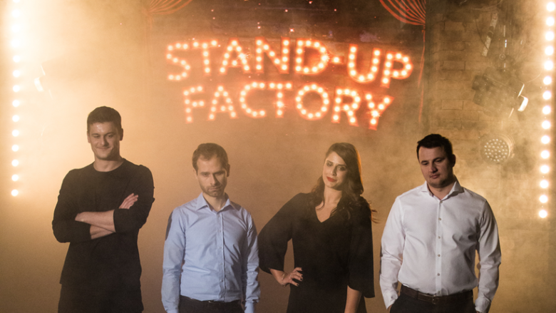 Pořad Stand-up Factory je venku!