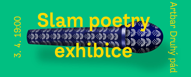 Slam poetry exhibice v Brně. ArtBar Druhý Pád