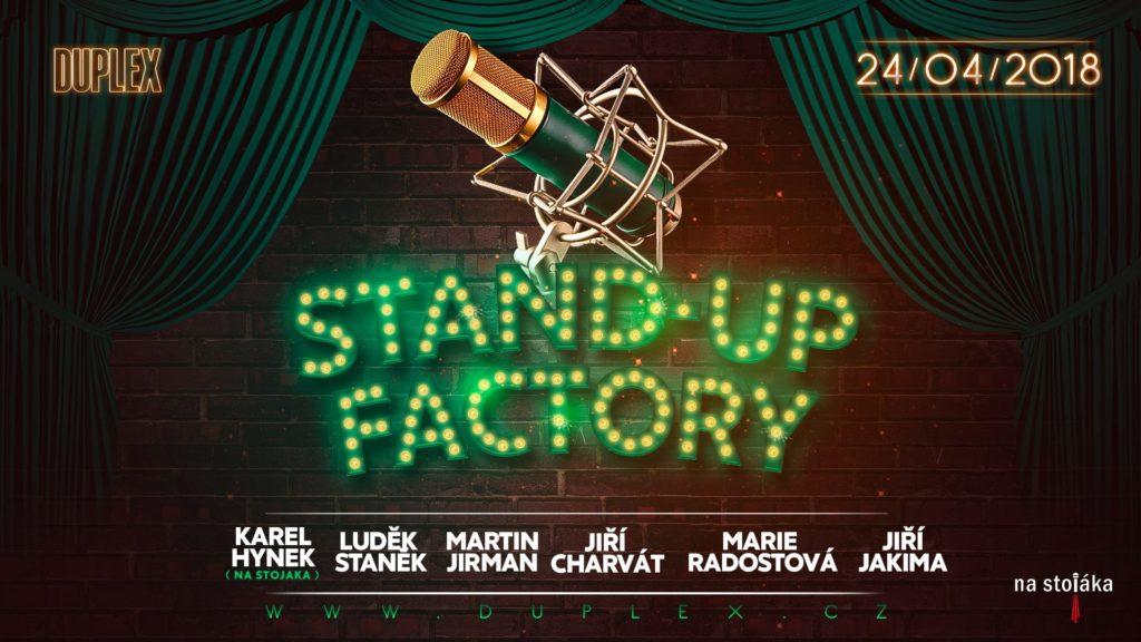 Stand-up Factory: Jarní hu, mor v Duplexu