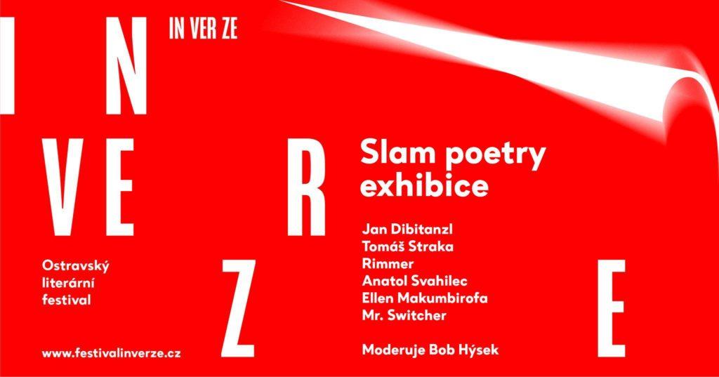 Slam poetry exhibice na Inverzi 2018