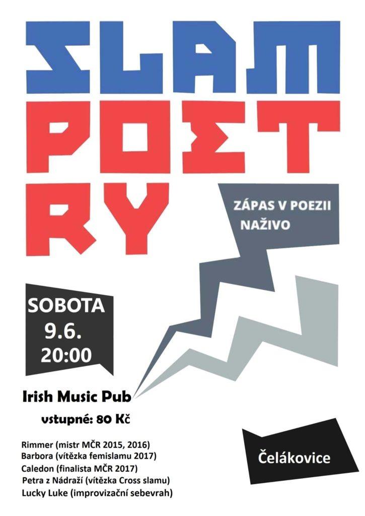 Slam poetry v Čelákovicích