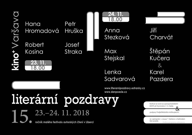 Literární pozdravy Liberec 2018